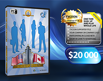 DVD cover for business game