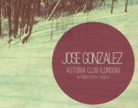 Propuesta de cartel - José González