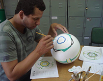 Criação do design de bola