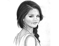 My Selena Gomez Drawing