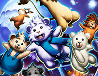 Flurry Bear Splash Page