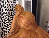 Rock the Box - Updo with Cloven Hooves