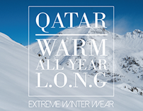 Qatar Extreme Winter Wear