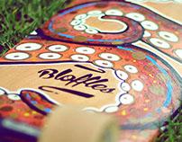 Octo Longboard by Bloffles