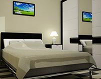 3D flat Interior Design