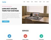 Lumia Beautiful bootstrap Template