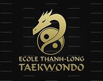 Création du logo Ecole Thanh-Long Taekwondo