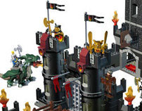 Lego Duplo Black Castle