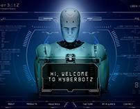 HyperBotz Website UI