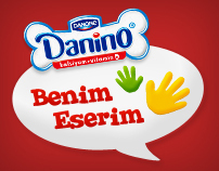 Danone - My Work Of Art (Facebook Campaign)