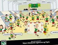 Skjern Handball - drawings for kids