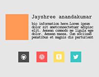 Bio Page - Mockups