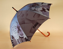 Print for an umbrella