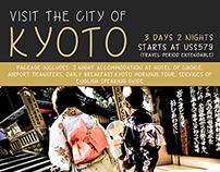Travel Posters: Kyoto, Tokyo, Osaka, Singapore, Saigon