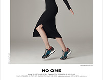 NO ONE Advertising Campaign