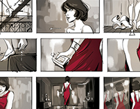 Storyboards and roughs