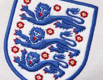 ENGLAND FOOTBALL POSTER