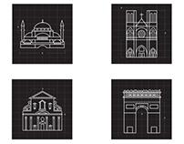 Infograma Estilos Arquitectónicos