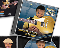 Carrying on the Torch of the Blues - CD Cover Design