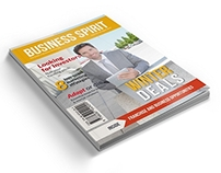 Business Spirit Newsletter Magazine - 32 Pages V.2