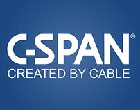 C-SPAN Rovi images mock ups