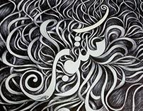 Destiny (Maktoub) Arabic Calligraphy & doodles