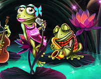 Frogs Band Slot