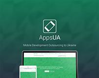 AppsUA landing page