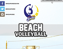 2014 Beach Volleyball Tournament Flyer