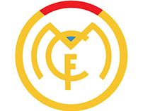 Ejercicio de Re-Diseño minimalista para el Real Madrid