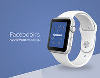Facebook Apple Watch Concept