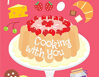 Unused Book Cover : Cooking with You