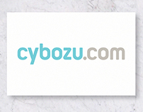 Cybozu.com logo design and brand identity