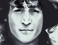 John Lennon ` s portrait