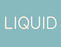 Liquid Typeface