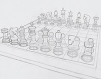 Sketch: Chess Board