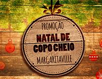 Natal de Copo Cheio Margaritaville