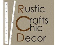 Rustic Crafts & Chic Decor Logo