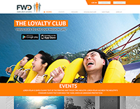 FWD Loyalty Club design mockup