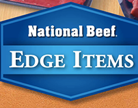 National Beef - Edge Items Digital Campaign