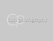Curl Photography Logo Design
