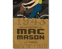 The Adventures of Mac Mason Book Cover Design