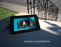 """Outside to play"" Kindle FreeTime concept"