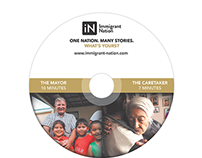 DVD Packaging and Menu for Immigrant Nation Films