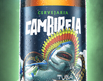 Cambirela beer CGI bottle