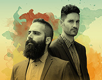 Capital Cities Gig Poster