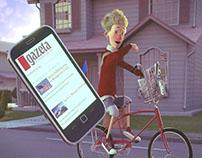 Gazeta.pl / Gazeta Wyborcza | 3D animated commercial