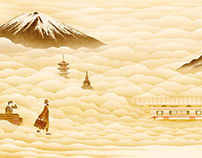 Shonan Monorail 50 year anniversary movie and poster
