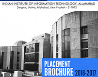 IIIT-Allahabad Placement Brochure 2016-2017