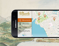 Samsung Culture Connect UI/UX Design